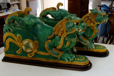 Chinese Lion Fountain